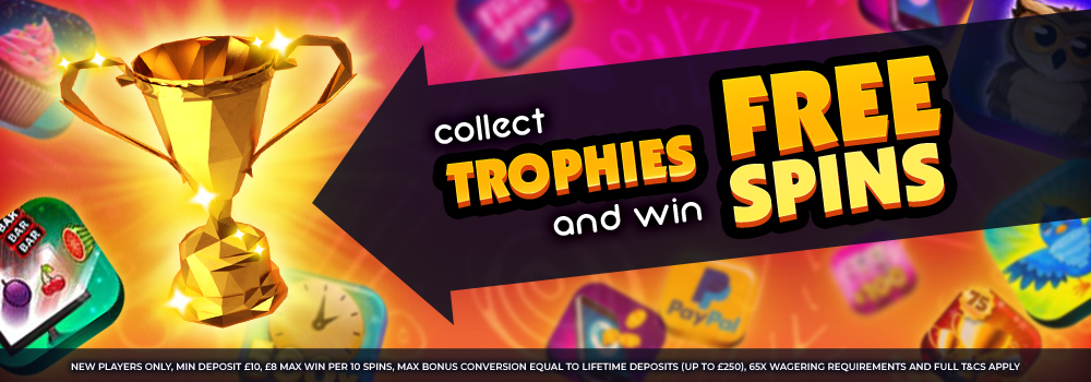 Big Thunder Slots Promotions Collect Trophies